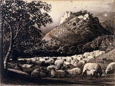 The Flock and the Star-Samuel Palmer-Giclee Print