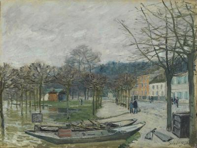 The Flood at Port-Marly, 1876-Alfred Sisley-Giclee Print
