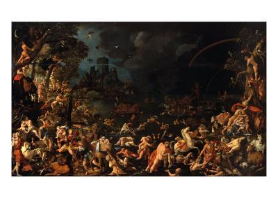 The Flood-Jan van Scorel-Giclee Print