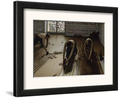 The Floor Scrapers, c.1875-Gustave Caillebotte-Framed Art Print
