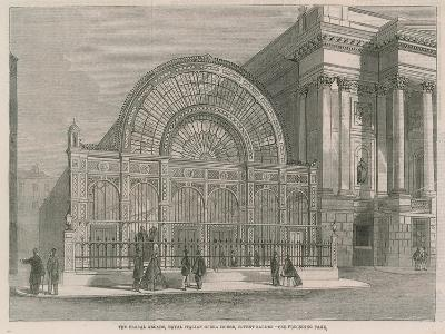 The Floral Arcade, Royal Italian Opera House, Covent Garden--Giclee Print