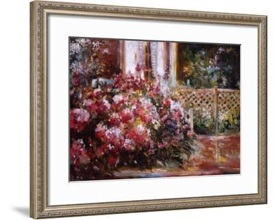 The Flower Garden-Mary Dulon-Framed Premium Giclee Print