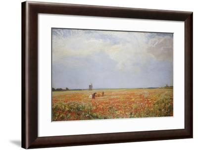The Flower Pickers-Sir David Murray-Framed Giclee Print