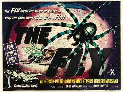 The Fly, 1958, Directed by Kurt Neumann--Giclee Print