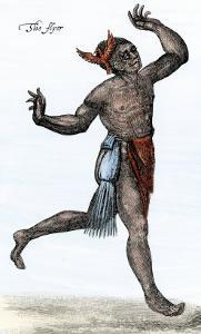 The Flyer - a Native American Shaman in Raleigh's Colony