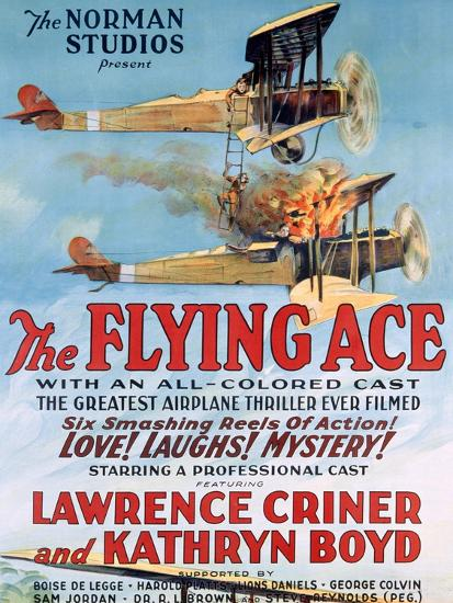 The Flying Ace Movie Poster--Giclee Print