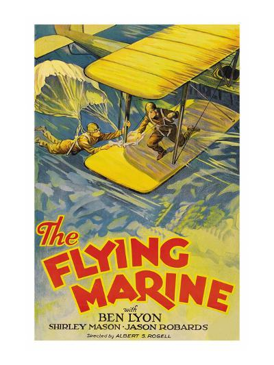 The Flying Marine--Art Print