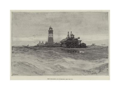 The Fog-Horn at Dungeness Lighthouse--Giclee Print