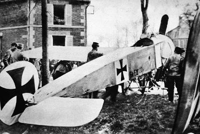 The Fokker's Day Past: One of the Much-Talked-About German Monoplanes a Captive in the French Lines--Photographic Print