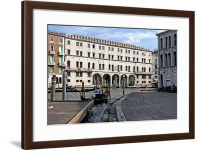 The Fondaco Dei Tedeschi at the Rialto, Reconstructed after the Fire of 1505 by Giorgio Spavento--Framed Giclee Print