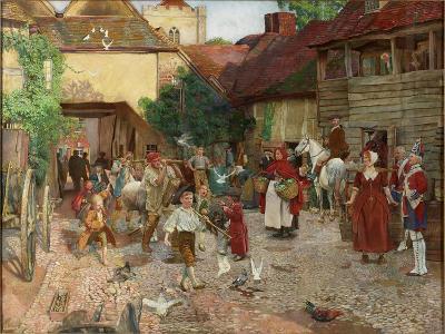 The Fool Who Would Please Every Man, 1903-John Byam Liston Shaw-Giclee Print