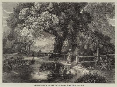 The Foot-Bridge in the Lane-Frederick William Hulme-Giclee Print