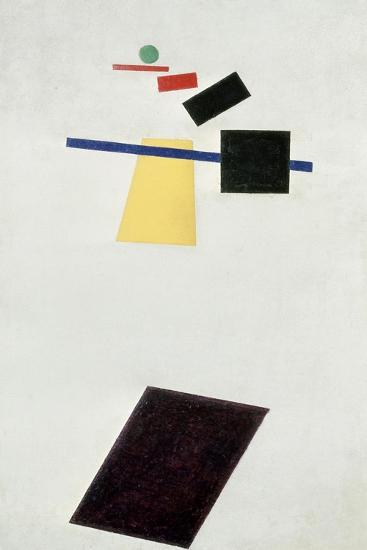 The Football Game, after 1914-Kasimir Malevich-Giclee Print