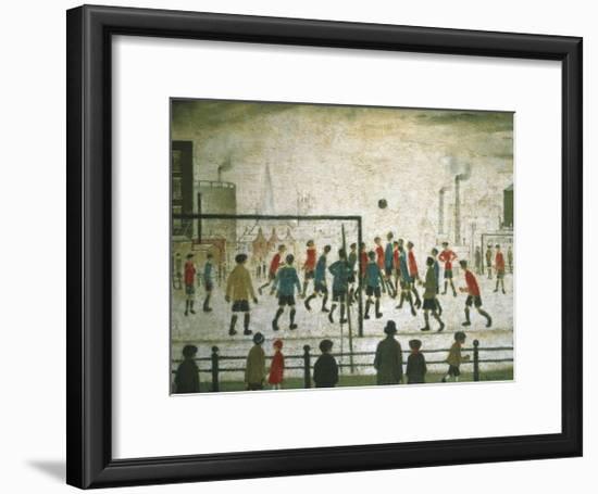 The Football Match-Laurence Stephen Lowry-Framed Art Print