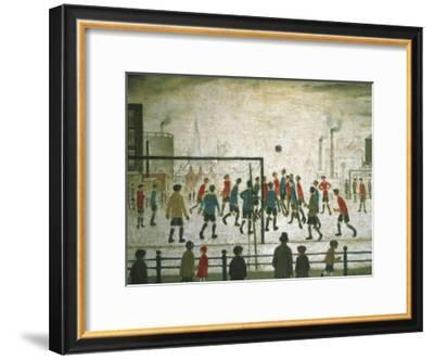 The Football Match-Laurence Stephen Lowry-Framed Art Print