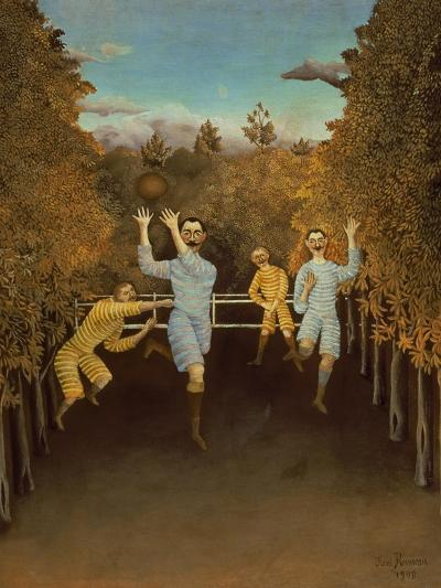 The Football Players,1908-Henri Rousseau-Giclee Print