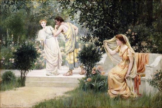 The Forbidden Kiss-Francis Coates Jones-Giclee Print