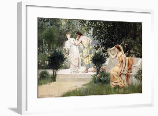 The Forbidden Kiss-Francis Coates Jones-Framed Giclee Print