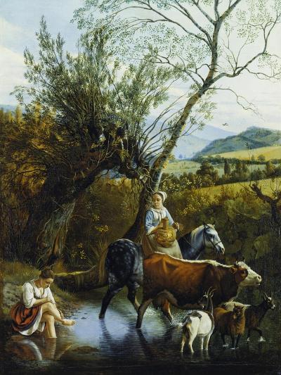 The Ford, 1672-Jan Siberechts-Giclee Print