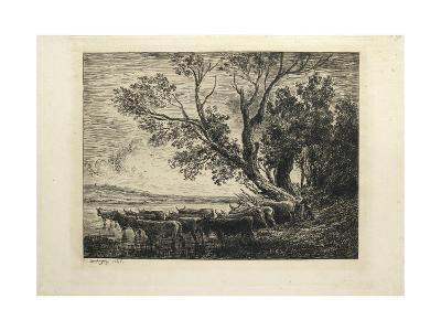 The Ford, 1865-Charles Francois Daubigny-Giclee Print