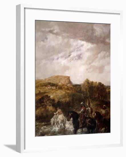 The Ford, 1891-John Gilbert-Framed Giclee Print