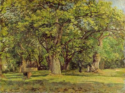 The Forest, 1870-Camille Pissarro-Giclee Print