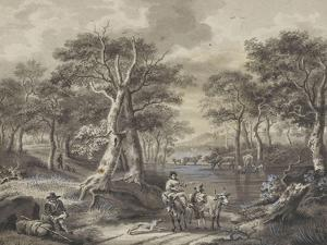 The Forest (Copy of Painting in the Museum of Douai)