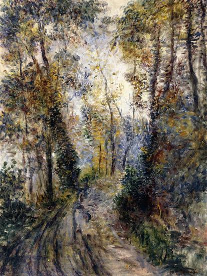 The Forest Path, 1871-Pierre-Auguste Renoir-Premium Giclee Print