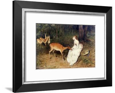The Forest Pet, 1871-William Quiller Orchardson-Framed Giclee Print
