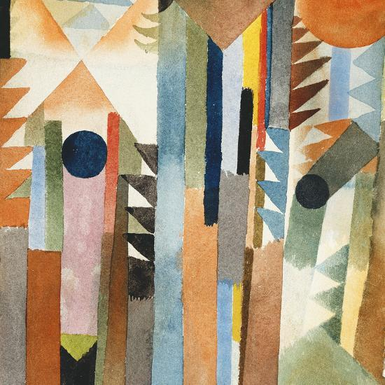 The Forest that Grew from the Seed-Paul Klee-Premium Giclee Print