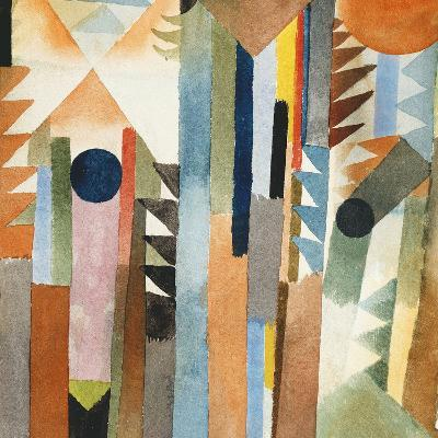 The Forest that Grew from the Seed-Paul Klee-Giclee Print