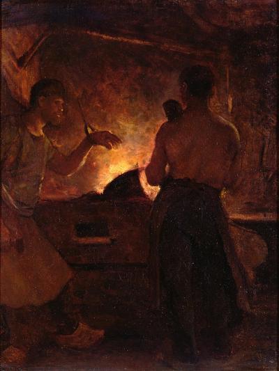 The Forge, C.1855-William Morris Hunt-Giclee Print