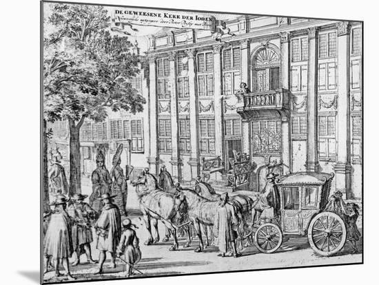 The Former Church of the Jews, C.1700-Romeyn De Hooghe-Mounted Giclee Print