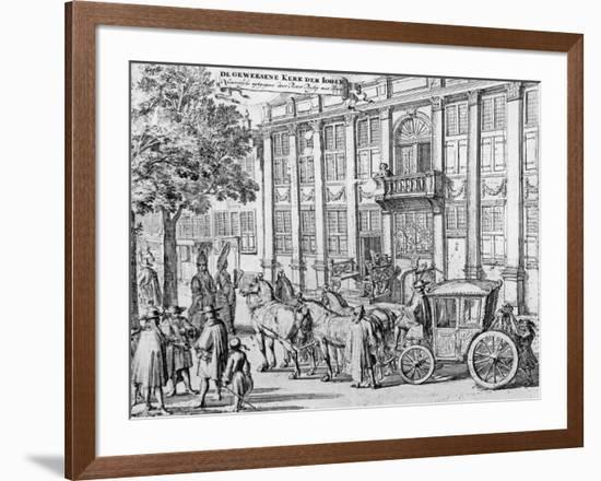The Former Church of the Jews, C.1700-Romeyn De Hooghe-Framed Giclee Print