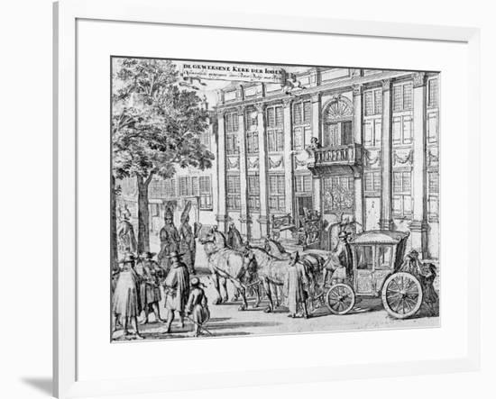 The Former Church of the Jews, C.1700-Romeyn De Hooghe-Framed Giclee Print