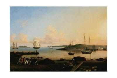 The Fort and Ten Pound Island. Gloucester, Massachussetts, 1847-Fitz Henry Lane-Giclee Print