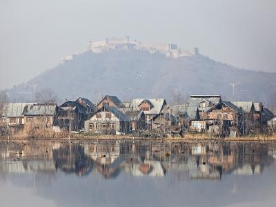 The Fort Looks over Dal Lake at Srinagar, Kashmir, India-Julian Love-Photographic Print