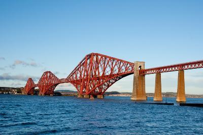 The Forth Bridge, Finally, Painted!- Versevend-Photographic Print