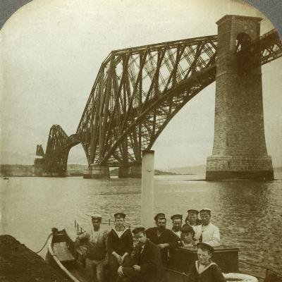 The Forth Bridge, Scotland--Photographic Print