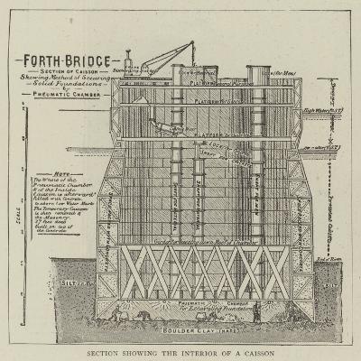 The Forth Bridge--Giclee Print