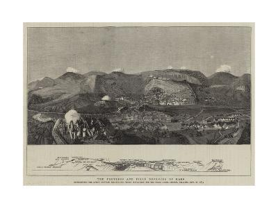 The Fortress and Field Defences of Kars--Giclee Print