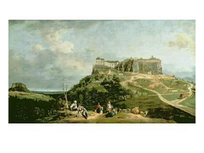 The Fortress of Konigstein, 18th Century-Bernardo Bellotto-Giclee Print