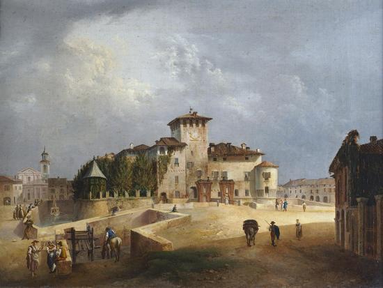 The Fortress of San Vitale in Fontanellato-Giuseppe Alinovi-Giclee Print