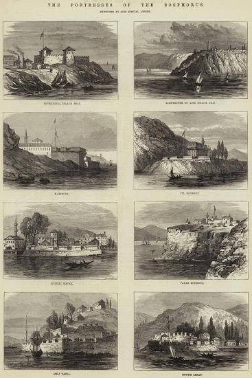 The Fortresses of the Bosphorus--Giclee Print