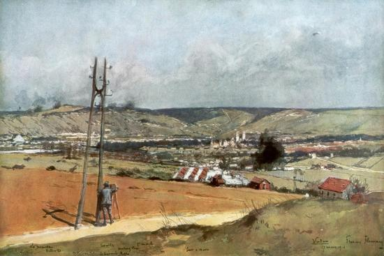The Forts of Chaume, Verdun, France, March 19, 1916--Giclee Print