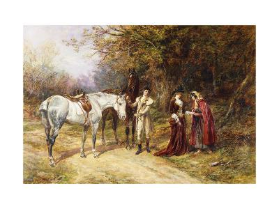 The Fortune Teller-Heywood Hardy-Giclee Print