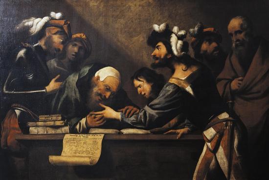The Fortune Teller-Pietro Della Vecchia-Giclee Print