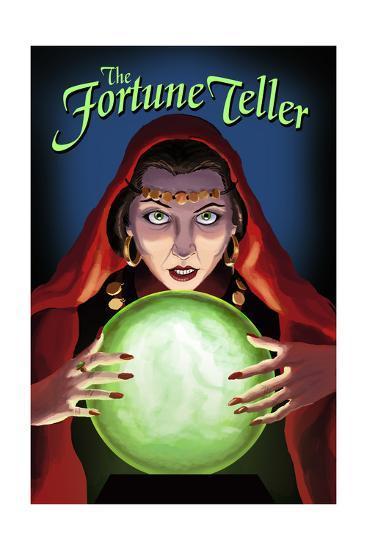 The Fortune Teller-Lantern Press-Art Print