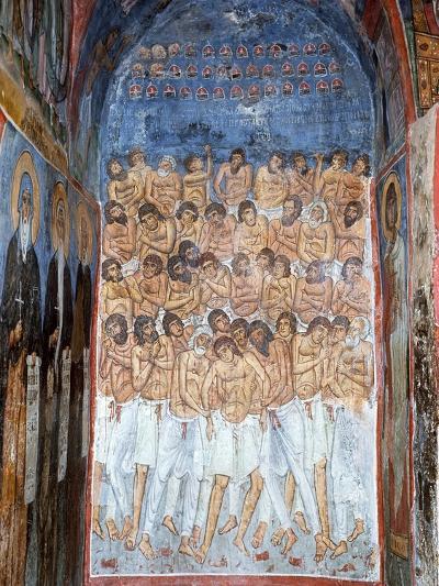 The Forty Martyrs of Sebaste--Giclee Print