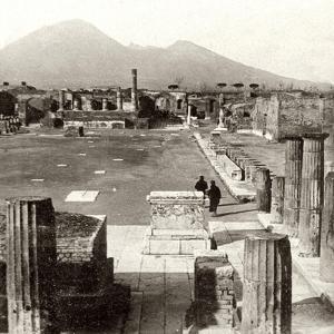 The Forum of Pompeii, Italy, 1894